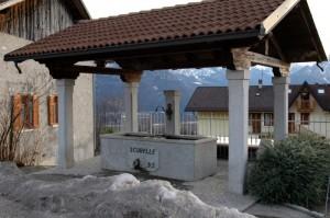 fontana in località Pianezze
