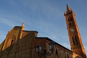 Il campanile che buca il cielo