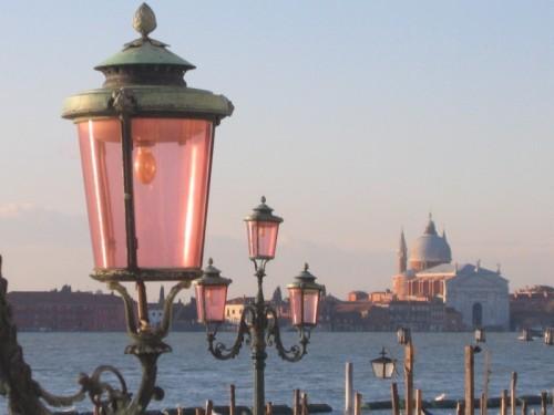 Venezia - rosa e bianco
