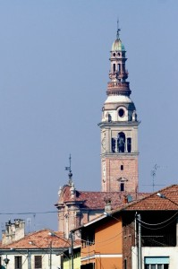 Il campanile di Ghemme