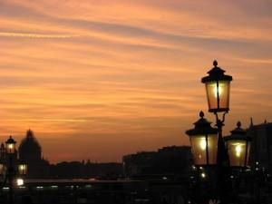 Luci e ombra della Basilica di Santa Maria della Salute