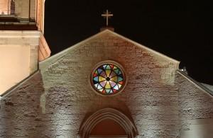 Monserrato ( CA ), Chiesa di Sant'Ambrogio, fronte