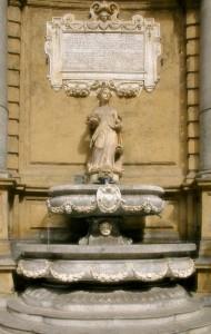 Una delle quattro fontane dei quattro canti (Palermo)