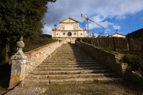 Spoleto - Chiesa di San Pietro