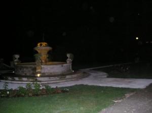 Nel silenzio di una fontana