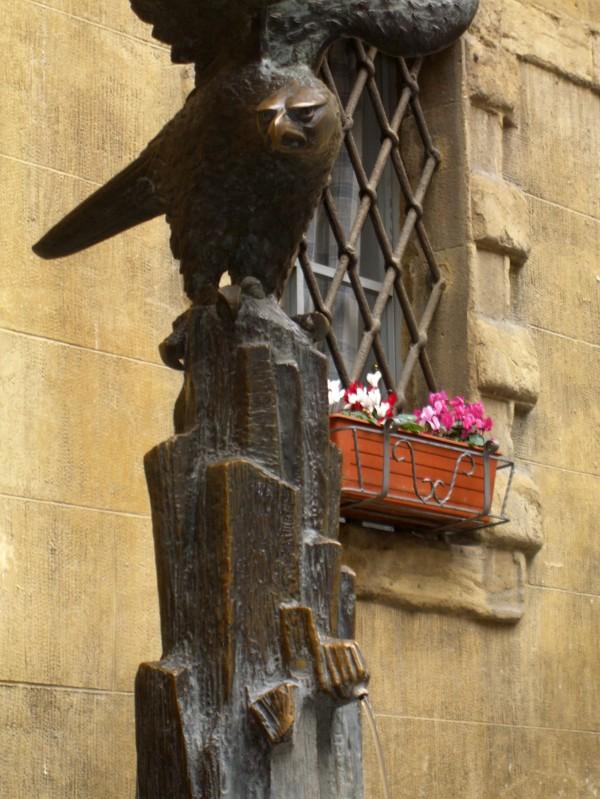 ''La Fontana dell'Aquila'' - Siena