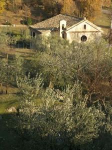 Chiesetta di Campagna presso la Civita Vecchia di Arpino