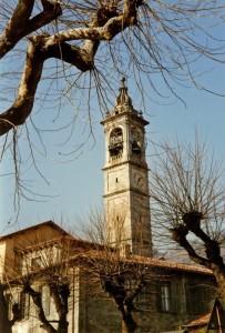 La chiesa di Pusiano