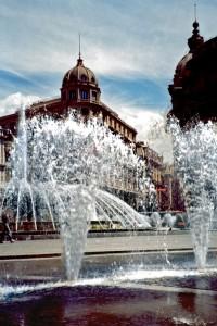 La fontana di Piazza Principe - Genova
