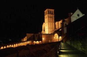 Assisi di notte 2