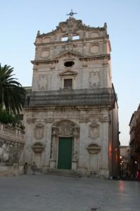 Chiesa in piazza (Ortigia) Siracusa