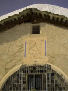 Facciata della chiesa di Sant'Anna di Bellino