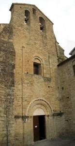 L'abbazia di S.Elena - la facciata