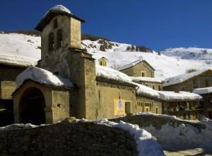 foto recente dell'antica parrocchiale di Sant'Antonio