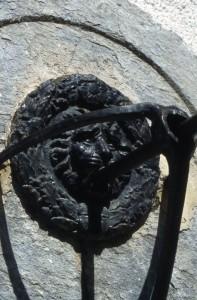 Fenestrelle, particolare di fontana