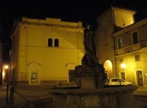 S.Maria della Porta, la fontana e la porta
