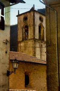 Particolare de vecchio campanile