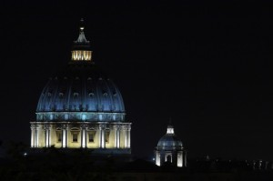 San Pietro  by night