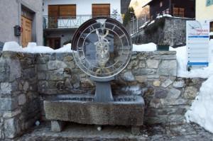 Pesariis : Fontana