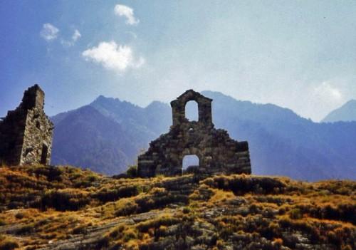Brusson - Cappella del castello di Graines