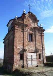 L'antica cappella tra i vigneti