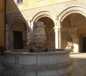 La Fontana della Chiesa di Santa Maria dello Spasimo a Palermo