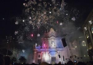 Duomo festeggiamenti di Sant'Agata