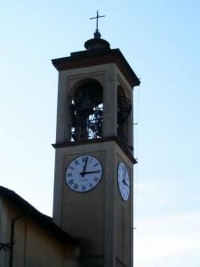 Casterno - Un bel contesto - Particolare del campanile