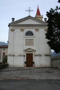 Dolcè - la chiesa parrocchiale