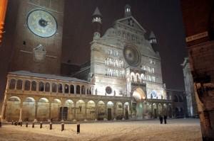 Duomo con la neve