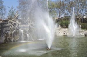 Torino, fontana dei Dodici Mesi al Valentino