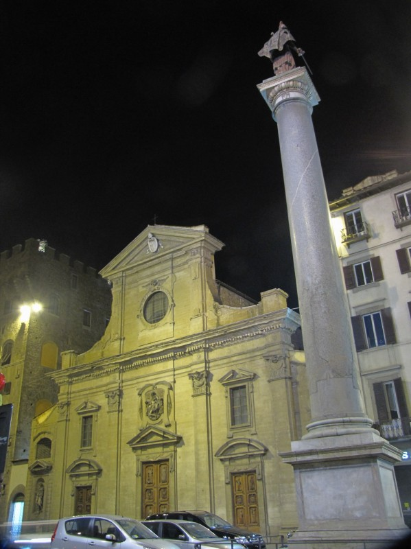 ''CHIESA S. TRINITA A FIRENZE'' - Firenze