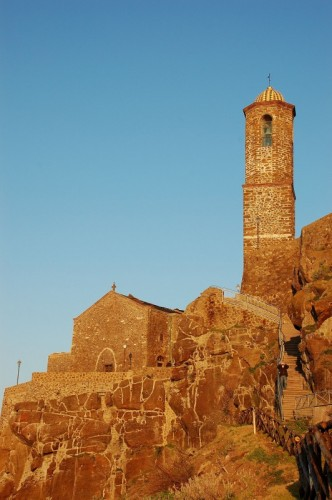 Castelsardo - Cattedrale S.Antonio Abate (rosso tramonto)