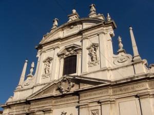 Brescia - Facciata di SS. Faustino e Giovita