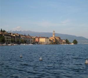 vista dalllo spettacolare lago di Garda