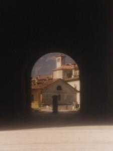 Luce..ombra..luce: il campanile
