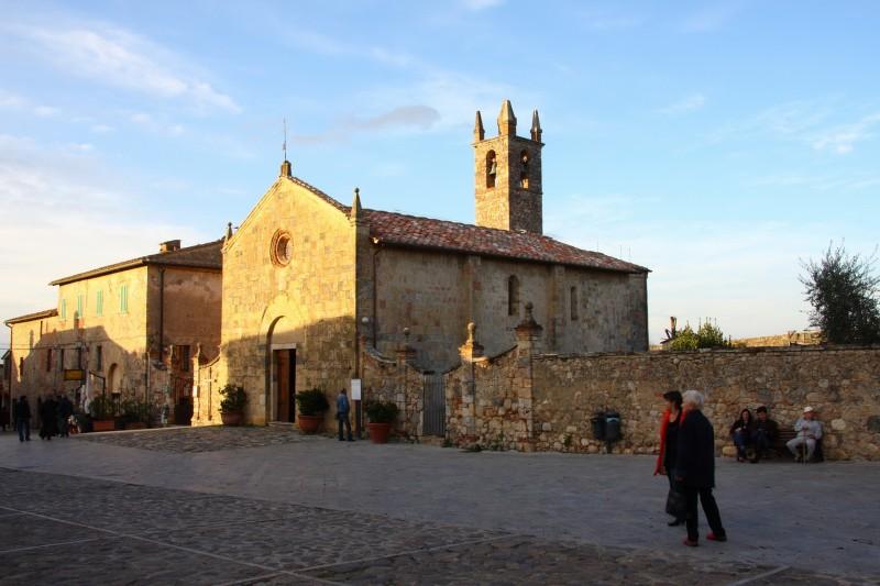 ''Chiesa a Monteriggioni'' - Monteriggioni