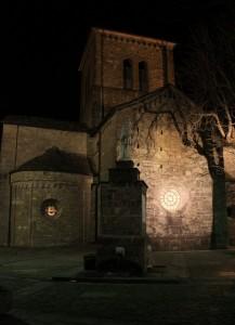 San Moderanno e i riflessi notturni