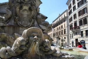 a guardia del pantheon