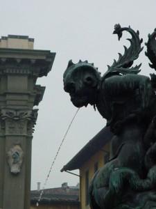 Fontana di piazza SS.Annunziata (particolare)