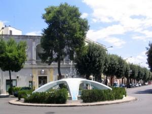 Nardò, fontana di piazza Castello