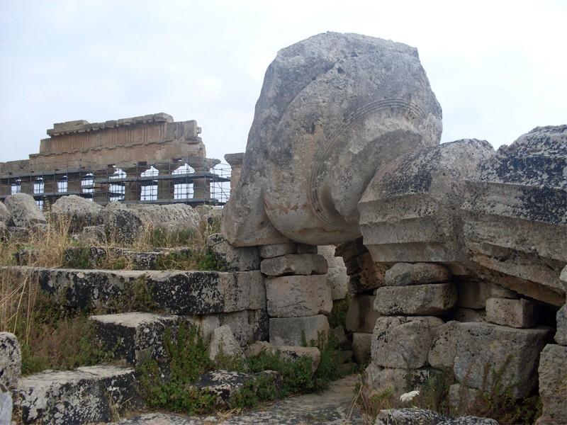 ''Selinunte, Tempio greco'' - Trapani