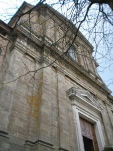 Chiesa tra i rami