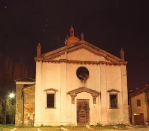 Frontale chiesa Vecchia di San Zavedro