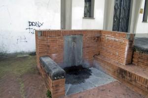 Chiesina Uzzanese: fontana