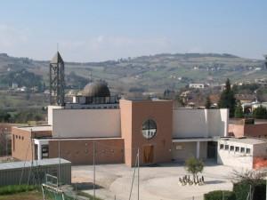 La parrocchiale di S.Giuseppe Moscati a Monte Dago