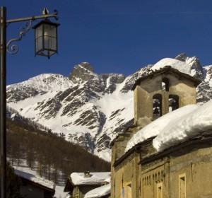 Sant'Antonio e il lampione d'inverno