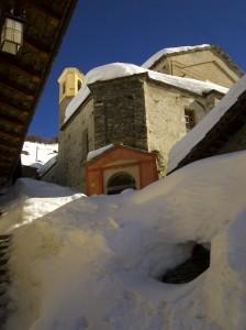 Ex Convento dei Cappuccini d'inverno