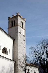 Chiesa San Vincenzo, il campanile a torre