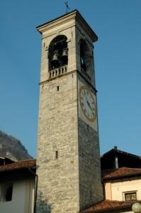 Campanile della parrocchiale San Martino